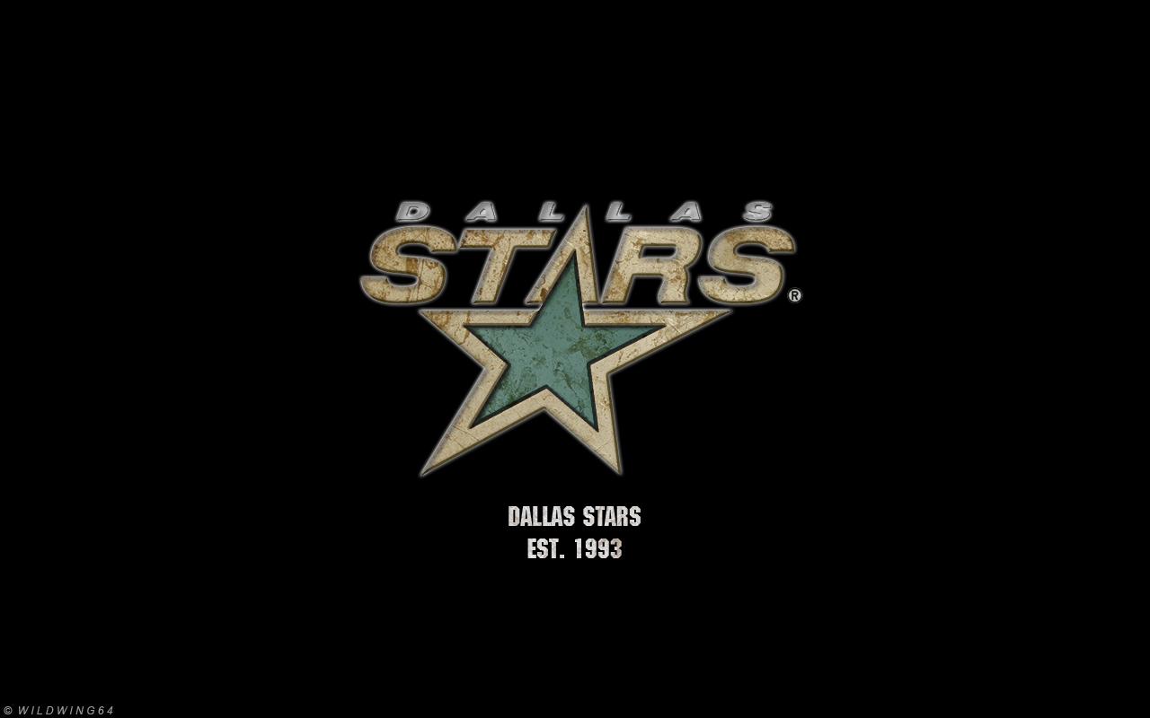 dallas stars metallic logo wallpaper by wildwing64 on