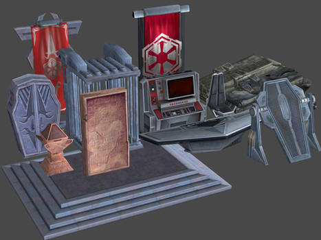 Imperial Props Pack SWTOR for XNAlara