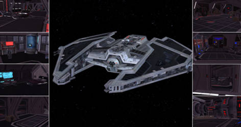 Fury Class Interceptor V2 SWTOR for XNAlara by Torol