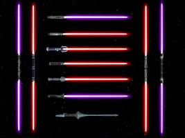 Lightsaber Pack (Sith) SWTOR for XNAlara