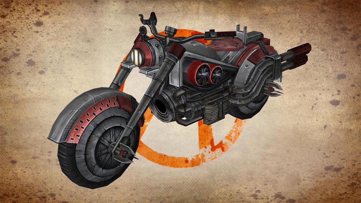 Bandit Motor Bike (TFTB) for XNALara by Torol