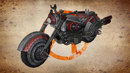 Bandit Motor Bike (TFTB) for XNALara by Torol