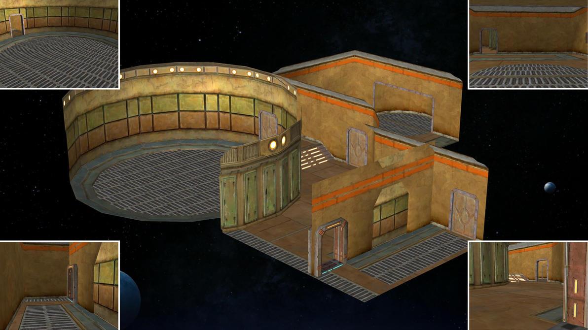 Underworld House SWTOR for XNALara by Torol
