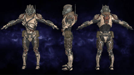 Exile Raider Heavy - Mass Effect Andromeda for XNA by Torol