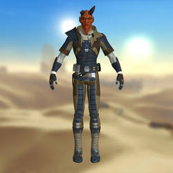 Gault Rennow SWTOR for XNALlara by Torol