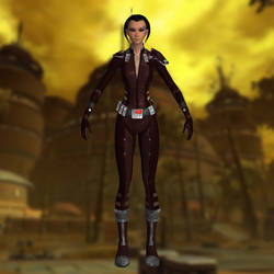 Mako SWTOR for XNALara UPDATED by Torol