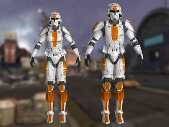 Republic Troopers SWTOR for XNALara by Torol