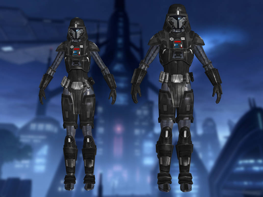 Imperial Commandos SWTOR for XNALara by Torol