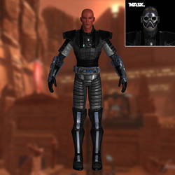 Sith Warrior SWTOR for XNAlara by Torol