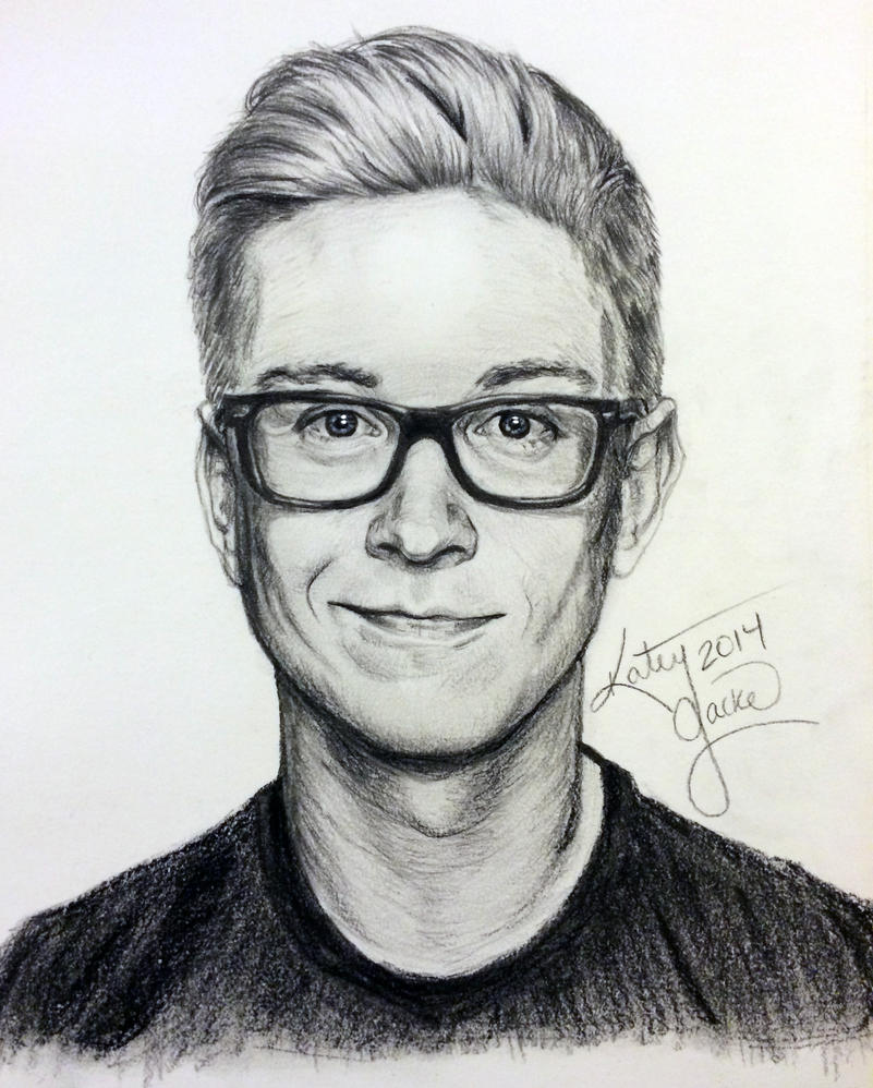 tyler oakley fanart by krytya on deviantart