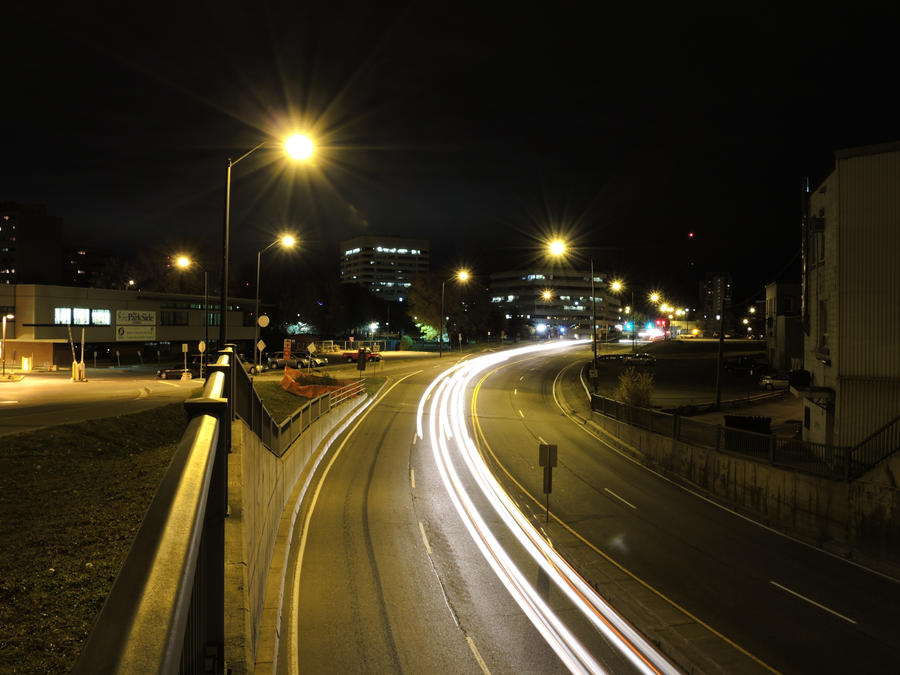 Light Trails 01 by macdonm