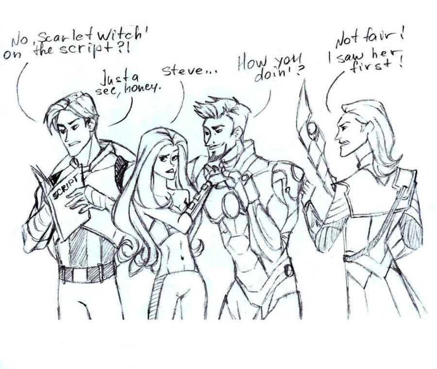 The Avengers FanArts - Página 4 Avengers_and_scarlet_witch_by_lana125-d50jpjp