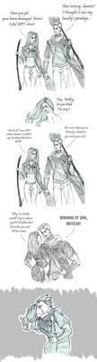 Beat it, Malfoy! by Lana125