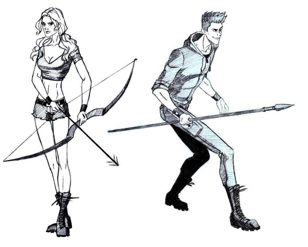 Hunger Games Glimmer And Marvel By Lana125 On Deviantart