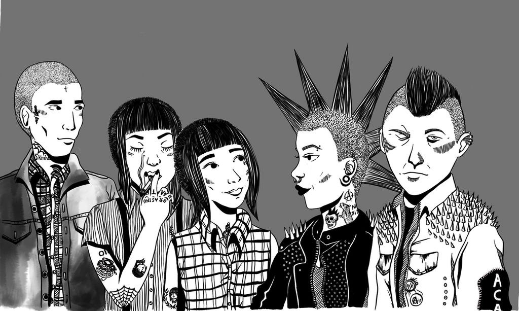 Skins and Punks