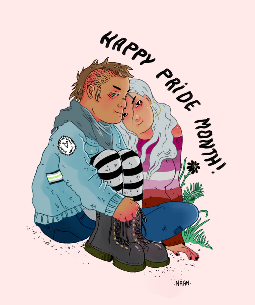 Happy radical pride month! by Nana1293