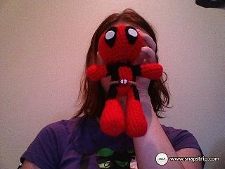 Deadpool doll by SurpySoup