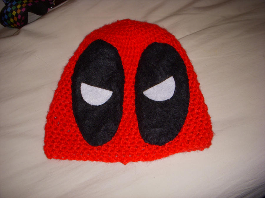 Magnificent Deadpool Knitting Pattern Illustration Sewing Pattern