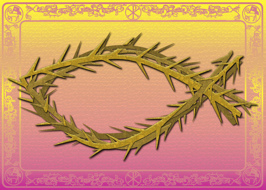 Lenten fish of thorns by liviavorange on deviantart for Fish on fridays during lent
