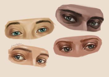 Eye Study by ZoroasDay-Daw