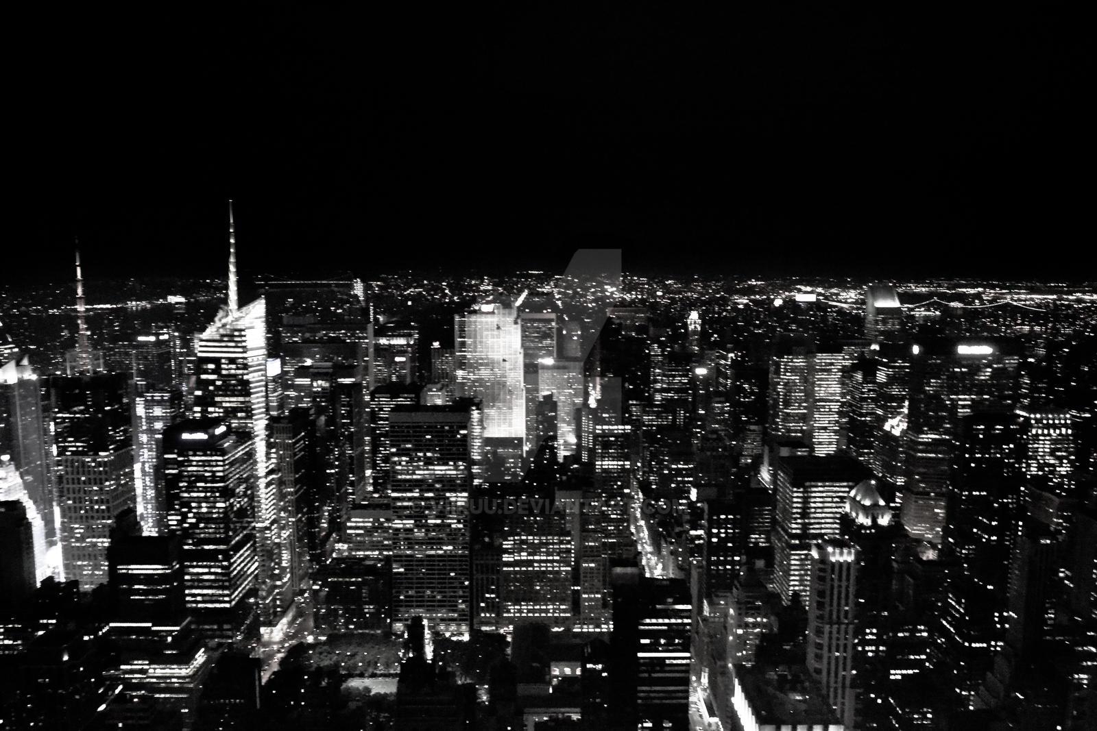 ... Lights   New York~ By Viiruu