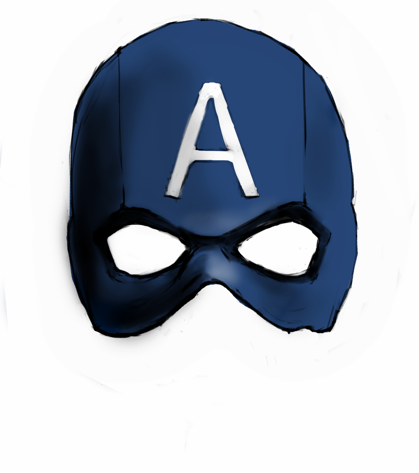 captain america mask by chief501 - Masque Captain America