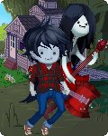 Marshall and Marceline by Kiwi-Octopus