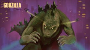 Godzilla by SteveMillersArt