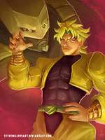 Dio and The World by SteveMillersArt