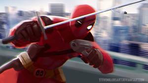 Deadpool by SteveMillersArt