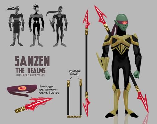 Sanzen Character Design