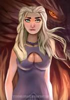 Khaleesi by SteveMillersArt