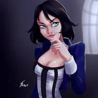 Elizabeth by SteveMillersArt