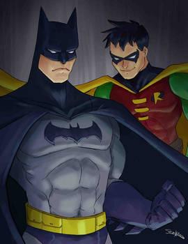 Bat-Man And Robin