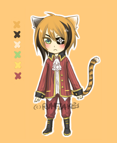 Calico Pirate Adopt [open] by rumflakes