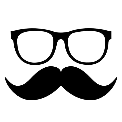 eyeglasses and moustache png by darlenemadelin by