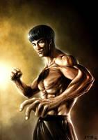 Bruce Lee by JoseManuelSerrano