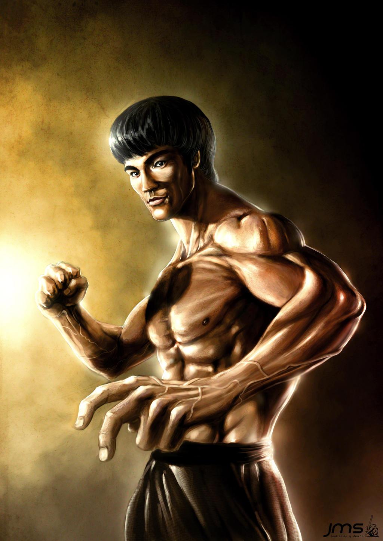 Bruce lee by josemanuelserrano on deviantart for Lee s painting