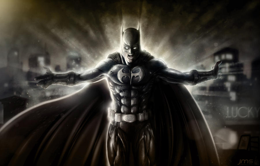 The dark knight by JoseManuelSerrano