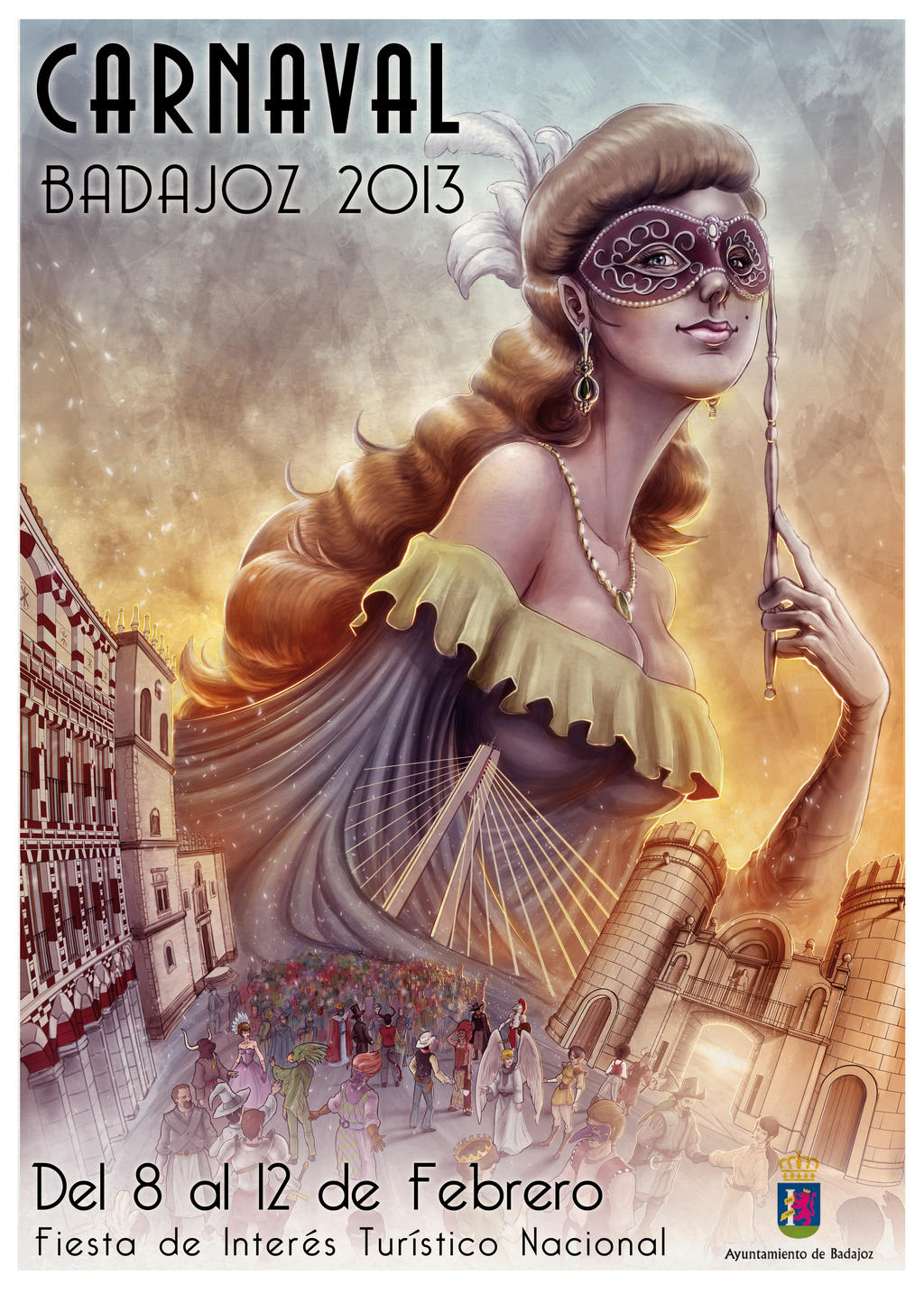 Carnaval poster contest by JoseManuelSerrano
