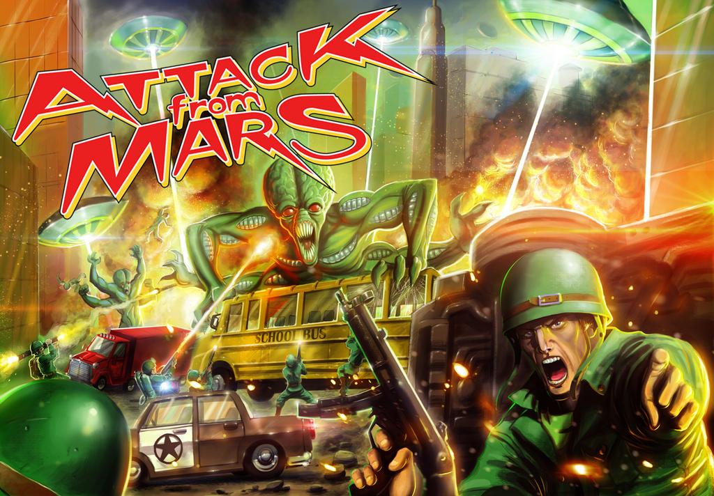 Attack From Mars Pinball by JoseManuelSerrano