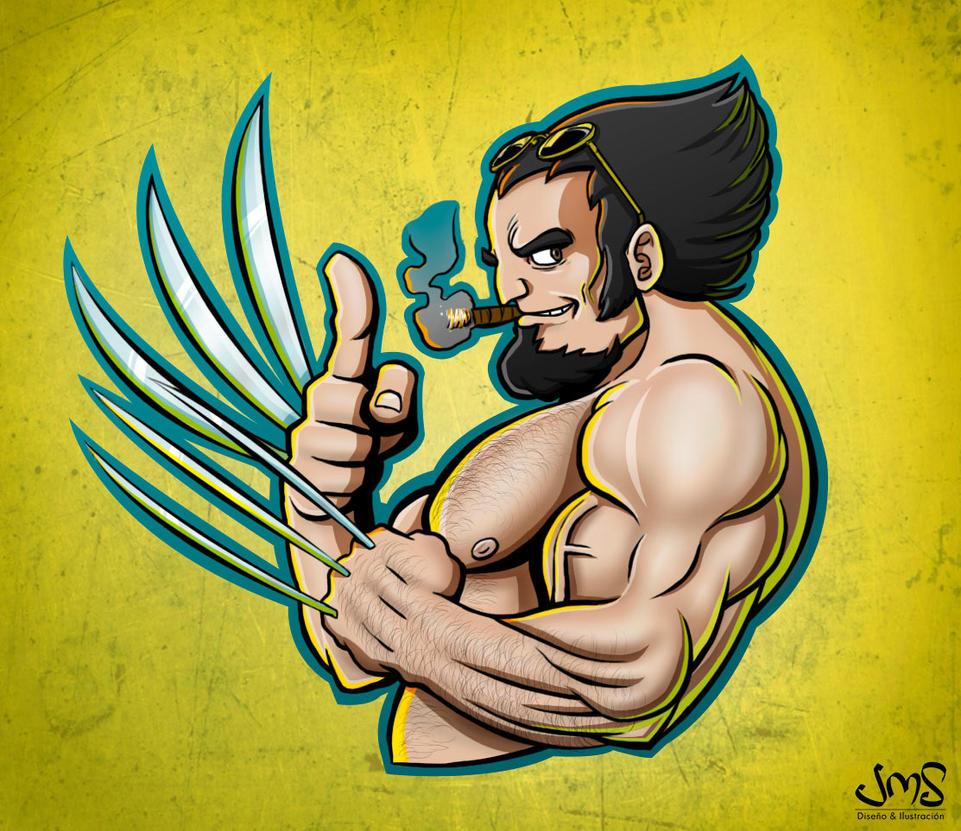 Wolverine by JoseManuelSerrano