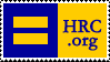 Human Rights Campaign Stamp by karibous-boutique