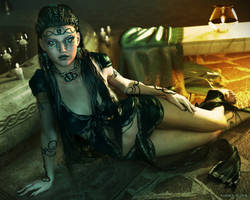 Nyx ~ Goddess of The Night by karibous-boutique