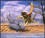 Dimetrodon vs Eryops