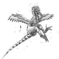 Linheraptor fight mode
