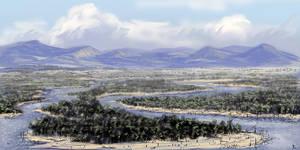 Devonian landscape