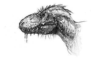 Another rex head study by dustdevil