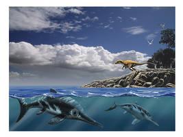 Jurassic Normandy by dustdevil