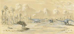 Jurassic Sketch
